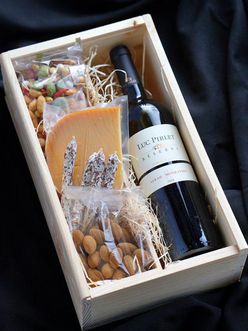Wijn relatiegeschenk - Wijnkado Kerstpakket -